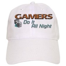 Gamers Do It All Night Baseball Cap