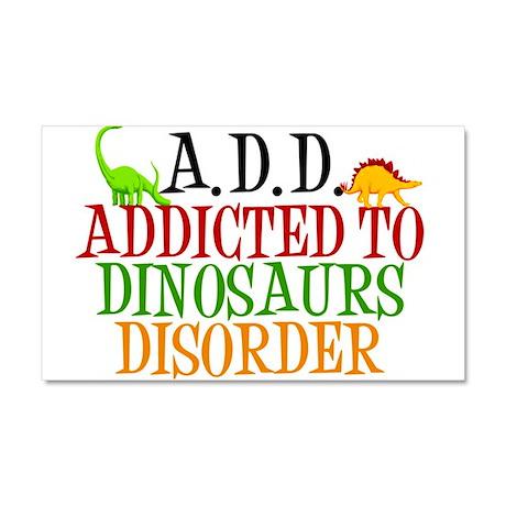 Funny Dinosaur Car Magnet 20 x 12