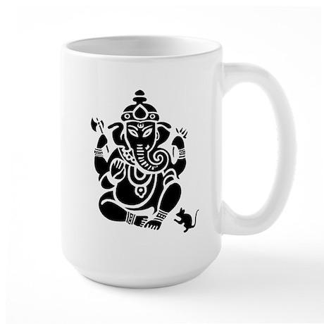 Ganesha White Large Mug Mugs