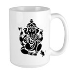 Ganesha White Large Mug Mugs