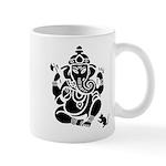 Ganesha White Mug Mugs