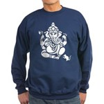 Ganesha Men's Dark Sweatshirt (dark)