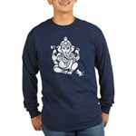 Ganesha Men's Dark Long Sleeve T-Shirt