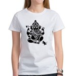 Ganesha Women's White T-Shirt