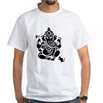 Ganesha Men's White T-Shirt