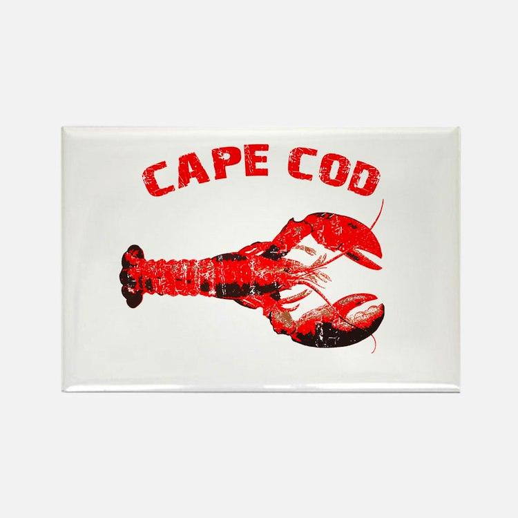 Cape Cod Lobster Rectangle Magnet