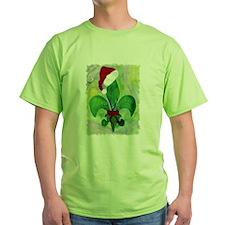 Christmas Fleur de lis T-Shirt