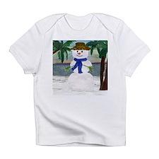 ISLAND SNOWMAN Infant T-Shirt