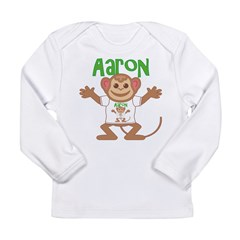 Little Monkey Aaron Long Sleeve Infant T-Shirt