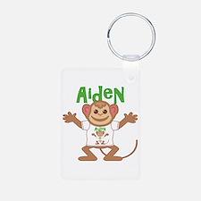 Little Monkey Aiden Aluminum Photo Keychain
