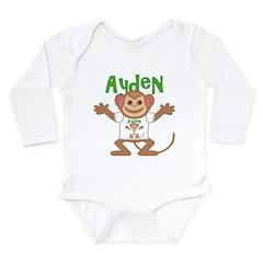 Little Monkey Ayden Long Sleeve Infant Bodysuit