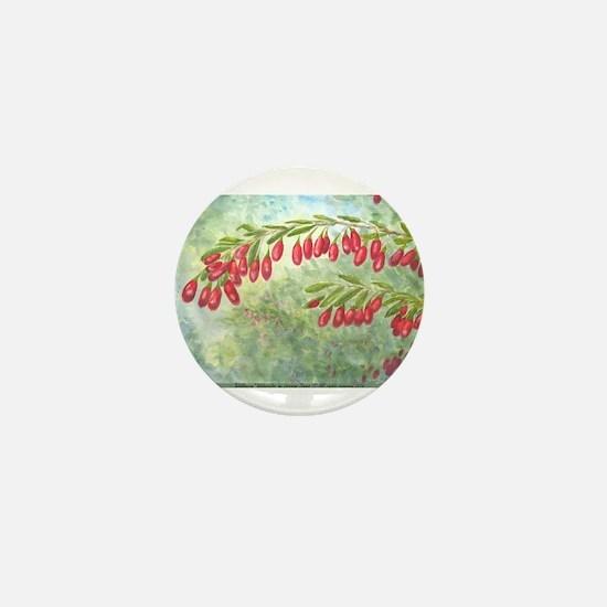 Wolfberry Mini Button
