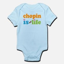 Chopin Is My Life Gift Infant Bodysuit
