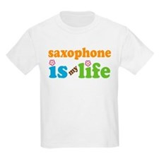 Saxophone Is My Life Gift T-Shirt