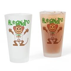Little Monkey Alejandro Drinking Glass