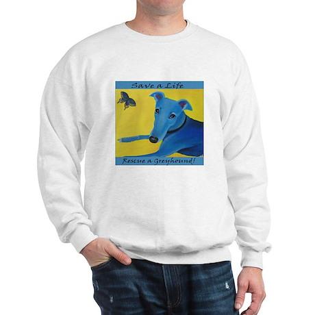 Greyhound Rescue II Sweatshirt