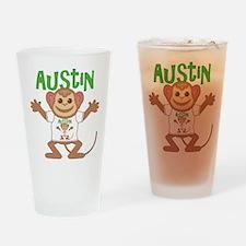 Little Monkey Austin Drinking Glass