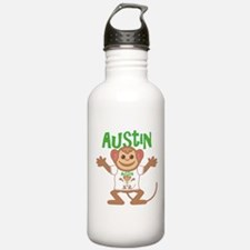 Little Monkey Austin Water Bottle