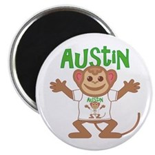 Little Monkey Austin Magnet