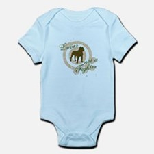 Lover not a Fighter Infant Bodysuit