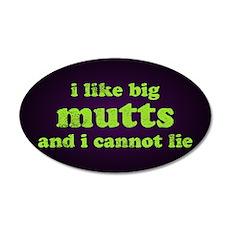 I Like Big Mutts Wall Decal