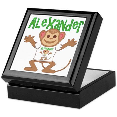 Little Monkey Alexander Keepsake Box