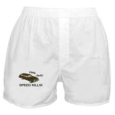Hey Jerk Speed Kills Boxer Shorts