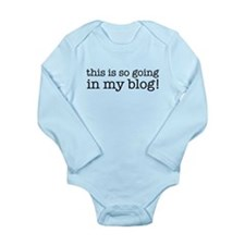 Cute Alyson Long Sleeve Infant Bodysuit