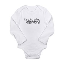 Unique Ted Long Sleeve Infant Bodysuit