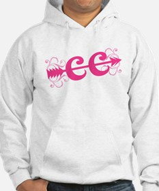 Pink CC Cross Country Hoodie