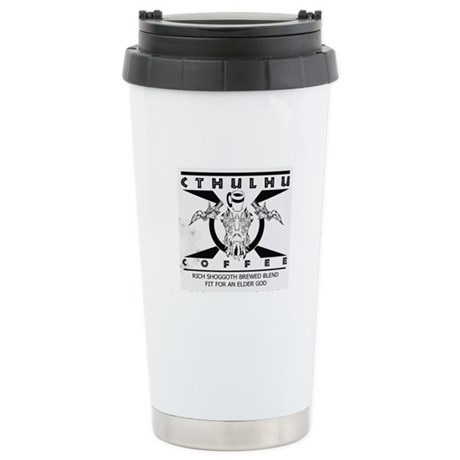 Cthulhu Coffee Stainless Steel Travel Mug