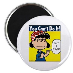Lucy the Riveter Magnet
