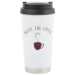 Seize the Coffee Stainless Steel Travel Mug