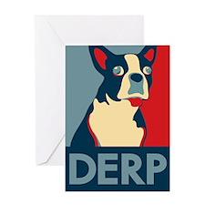 Derp Derp Derp Greeting Card