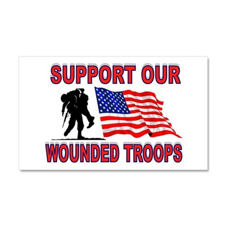 SUPPORT THEM Car Magnet 20 x 12