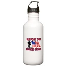 SUPPORT THEM Sports Water Bottle
