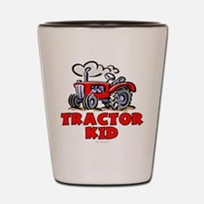 Red Tractor Kid Shot Glass