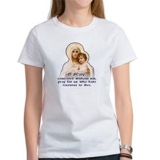 Madonna of the Roses Tee