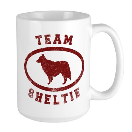 Team Sheltie Large Mug