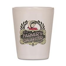 Farmer's Daughter Shot Glass