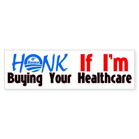 Honk If I'm Buying Your Healthcare