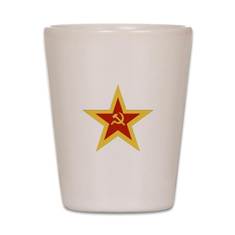 USSR STAR Shot Glass