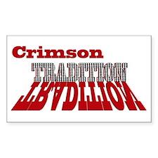 Crimson Tradition Decal