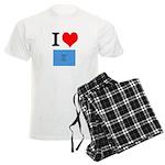 I Heart Photo t-shirt shop Men's Light Pajamas