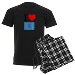 I Heart Photo t-shirt shop Men's Dark Pajamas