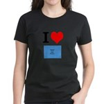 I Heart Photo t-shirt shop Women's Dark T-Shirt