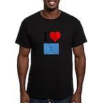 I Heart Photo t-shirt shop Men's Fitted T-Shirt (d