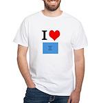 I Heart Photo t-shirt shop White T-Shirt