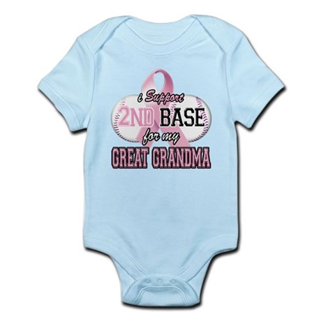 I Support 2nd Base for my Gre Infant Bodysuit