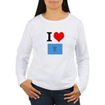 I Heart Photo t-shirt shop Women's Long Sleeve T-S